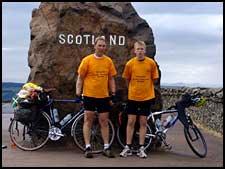 Graham & Ben Brodie in Scotland ( just)