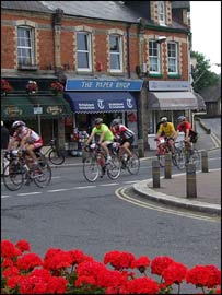 Dartmoor Classic riders - Bovey Tracey 2009